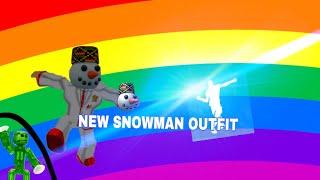 Roblox! Electro Swing SNOWMAN OUTFIT ⛄️ ❄️ (Buon Anno Nuovo)
