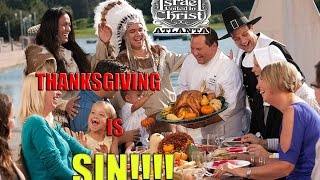 The Israelites: Stop Lying About Thanksgiving And It