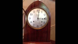 Antique Seth Thomas 8 Bell Sonora Chime Clock Runs and Chimes