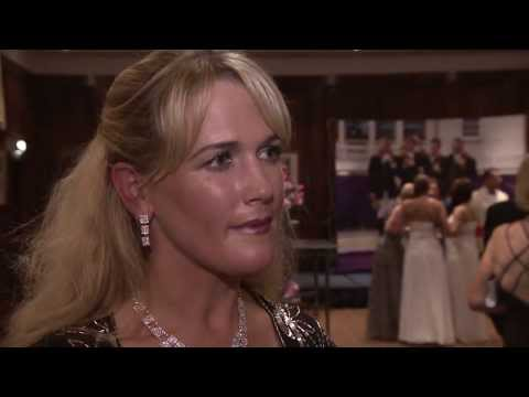 Showjumping  -    Laura Renwick interview at the Awards Ball