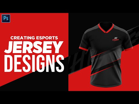 PS Tutorial: Creating Realistic Jersey Designs