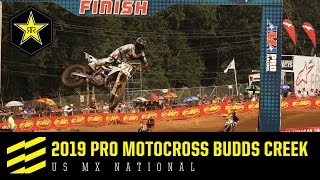 2019  Pro Motocross Budds Creek US MX National |...