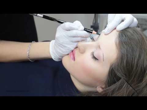 Microblading eyebrows Baltic Brows