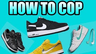 How To Get The DIAMOND SUPPLY SB | How To Get The SUPREME CDG AF1