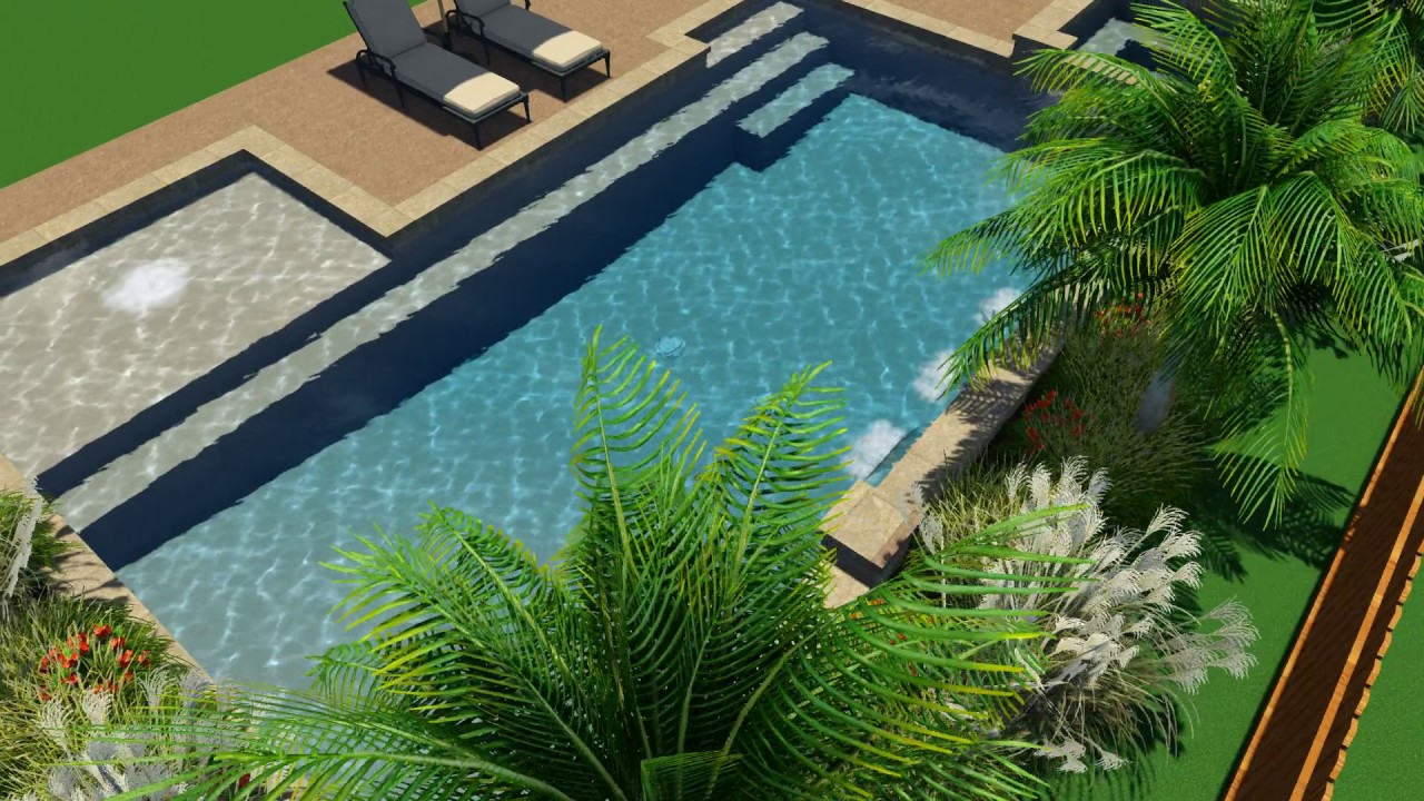 Viancos Pool Design by Backyard Amenities - YouTube