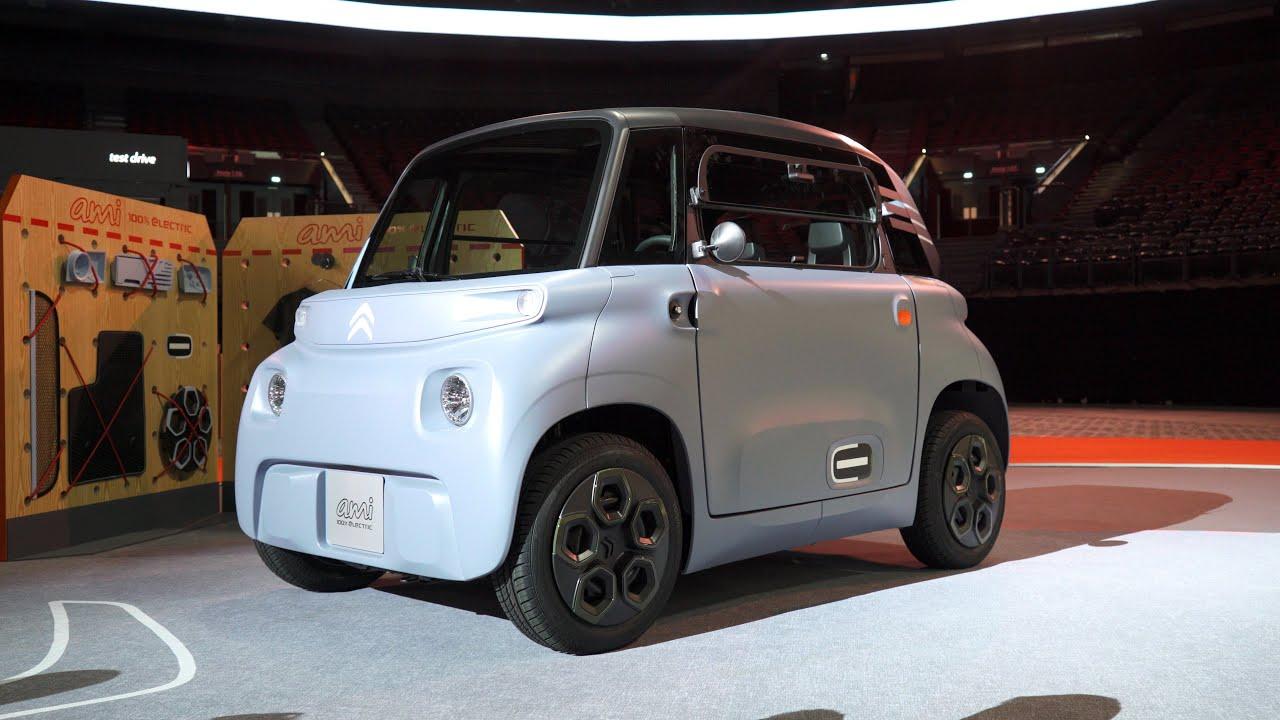 Anwb Exclusief Citroen Ami 2020 Is Het Een Elektrische Auto Of Een Brommobiel Youtube