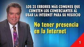 Error 01 - No Tener Presencia En La Internet