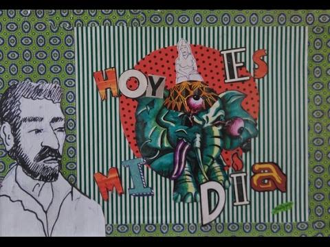 Santi Veracruz Artist Book - HOY ES MI DÍA - Libro de artista