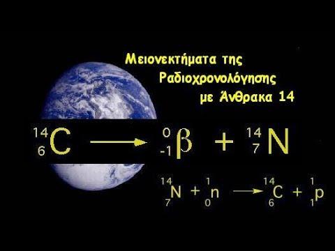 ραδιοχρονολόγηση άνθρακα χρονολόγηση συχνότητας επικοινωνίας