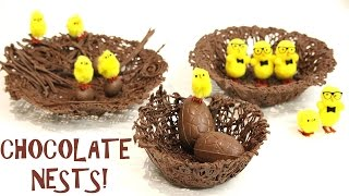 how to make the EASIEST CHOCOLATE NESTS! | Its A Piece Of Cake