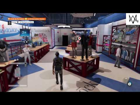 WATCH DOGS 2 - Kerndaten im Embarcadero Center finden