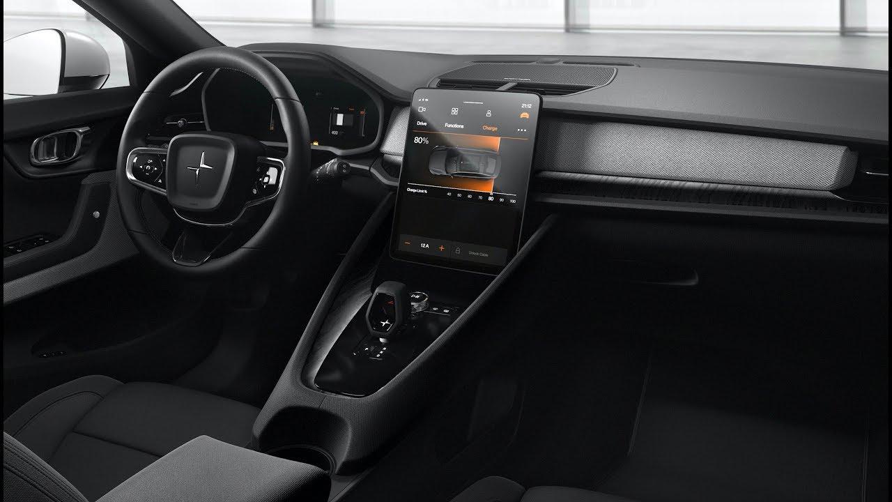 2020 Volvo Polestar 2 Interior Tesla Model 3 Killer Youtube