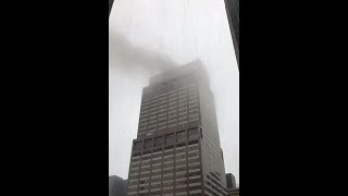 Witness felt building shake as helicopter crashed