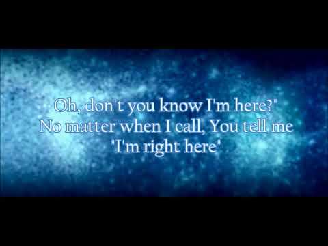 Jamie Grace Here (Lyric Video)