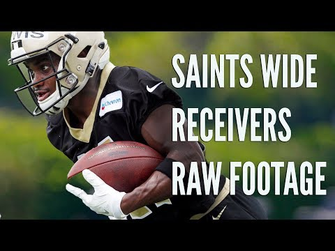 A 'Who that?' of WRs: Saints minicamp Day 2 observations