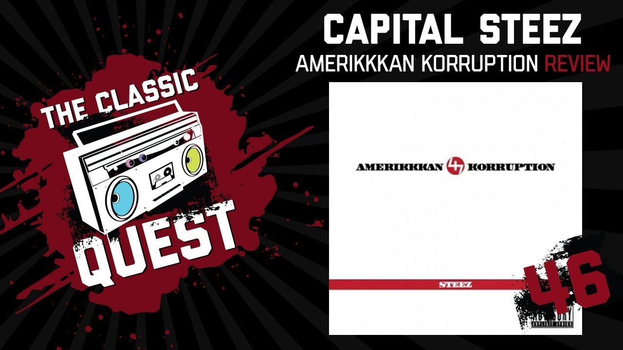 Capital STEEZ - AmeriKKKan Korruption Reloaded Review - YouTube