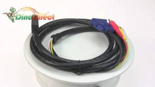 HDMI to VGA and 3 RCA Audio Video AV Adapter Cable 1.5m  from Dinodirect.com