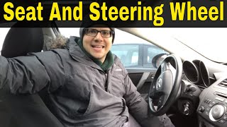 Proper Seat And Steering Wheel Position For Driving