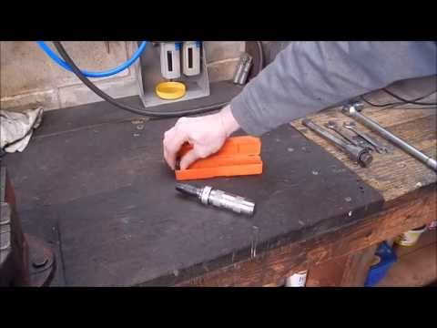 How to change rotation direction on a hand held impact driver