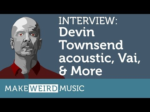 Interview: Devin Townsend on Steve Vai, new acoustic, X-JAMM & More thumbnail