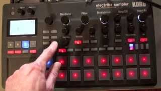 ELECTRIBE 2 SAMPLER - Drum Synthesis Techniques / Track Making - Prism of Centuries IDM