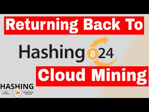 Hashing24 Cloud Mining Site , New Contract Purchased 02/03