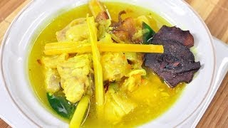 ไก่ต้มขมิ้น Chicken Stew with Turmeric