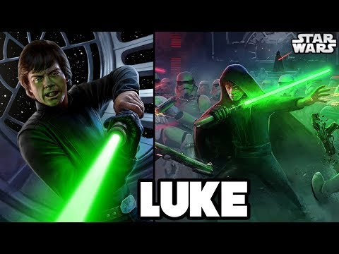 TOP 14 MOST INSANE POWERS of LUKE SKYWALKER - Star Wars Explained