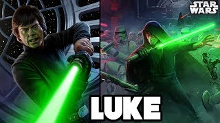 TOP 14 MOST INSANE POWERS of LUKE SKYWALKER - Star Wars Explained