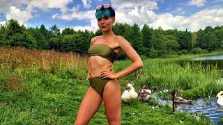 Ловля карася в Минской области - девушка рыбачка и природа Беларуси (Дзержинский р-н, Ковальцы)