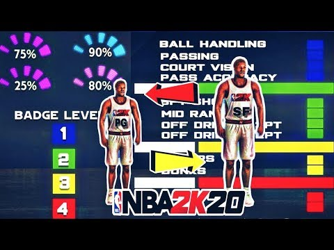 Repeat NBA 2K20 POINT GUARDS OR SMALL FORWARDS - BEST MY