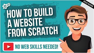 How to Create a Website 🖥️ Step-by-Step Guide for Beginners (2019)