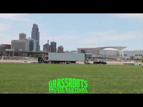 Grassroots Music Festival 2015 Stage Time Lapse
