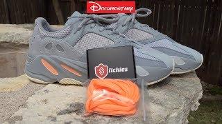 yeezy 700 orange laces