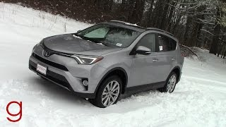 2017 Toyota RAV4 Limited AWD   Road Test & Review