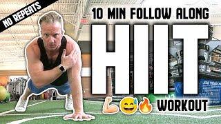 10 Minute Fat Melting HIIT Bodyweight Workout