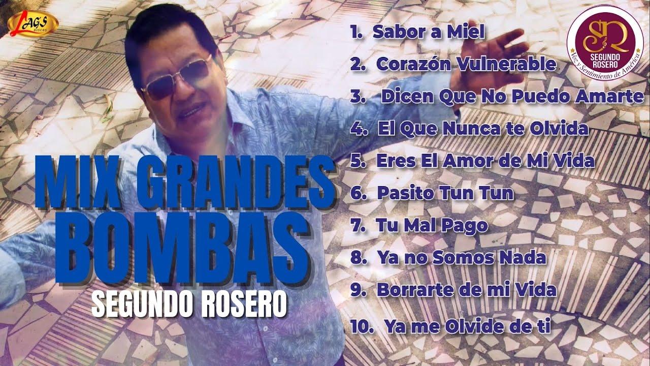 Segundo Rosero - Mix Grandes Bombas (Audios Oficiales) | Voz y Sentimiento de América
