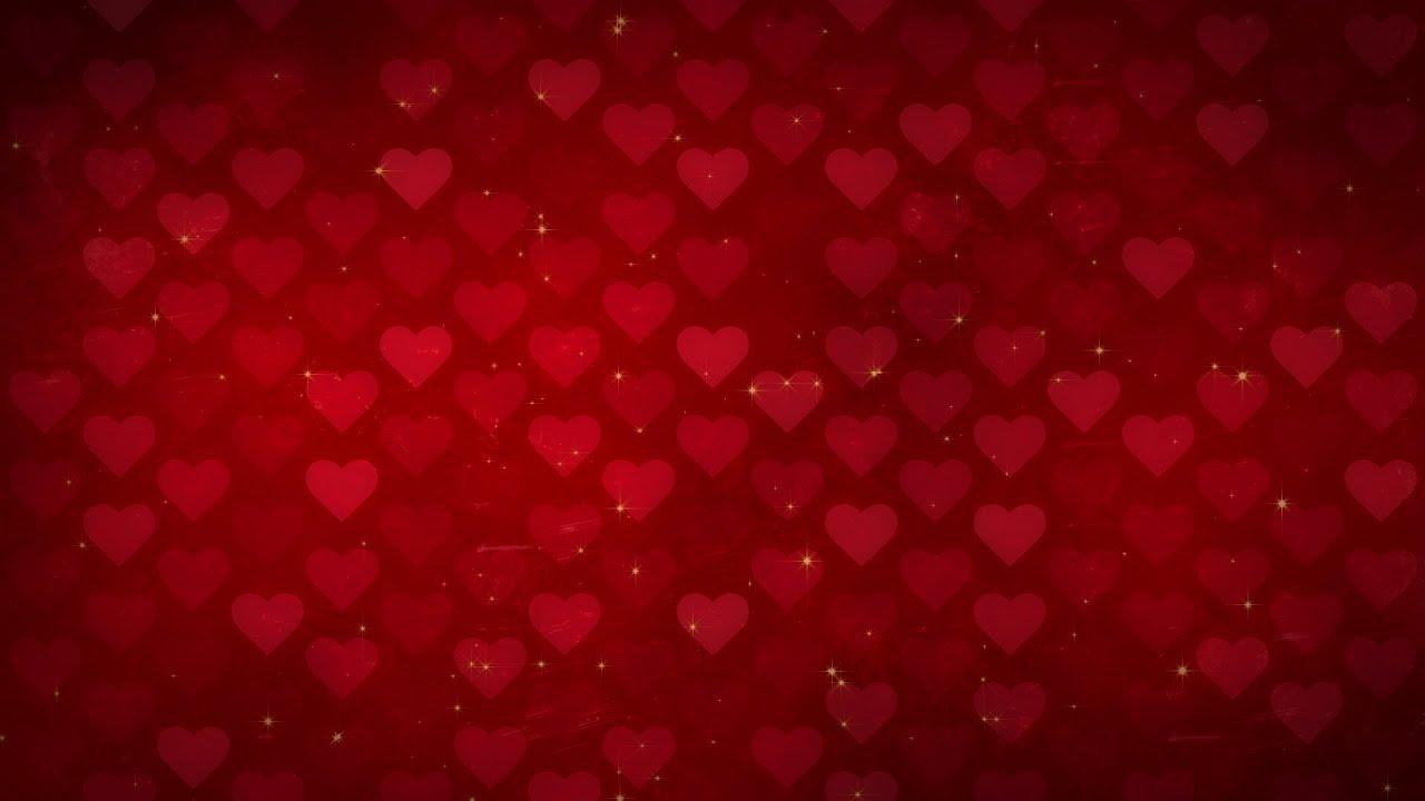 grid of hearts - hd video background loop