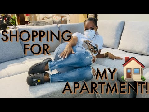 SHOPPING FOR MY APARTMENT | TANAANIA