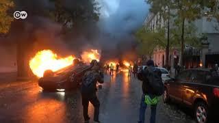 Protestas masivas en Francia