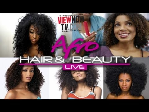 Afro Hair & Beauty Live  with Donna Spence. ViewNowTv