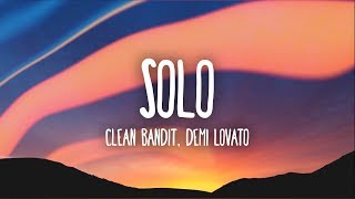 Gambar cover Clean Bandit, Demi Lovato - Solo (Lyrics)