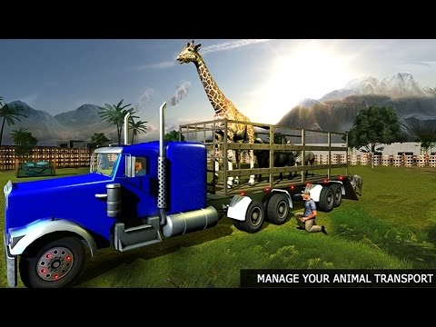 OffRoad Animal Transport Truck - Android Gameplay HD