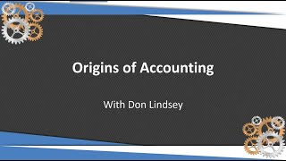 Origins of Accounting for Supply Chain players - Don Lindsey 32 Soft