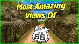Most Amazing Views of Route 66 - An Aerial Documentary