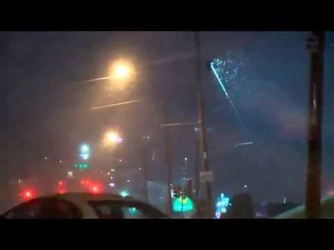 Extreme Weather | Snow Falls on Little Rock, Arkansas - With More to Come