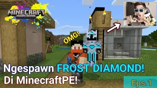 Jalanin Misi Bersama Frost Diamond! Minecraft Advanture Mods eps.1