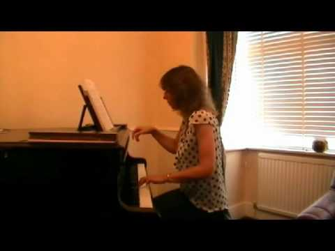 Black Eyes Trad Russian C3 Grade 4 Piano ABRSM 201718 played  Sally Wave