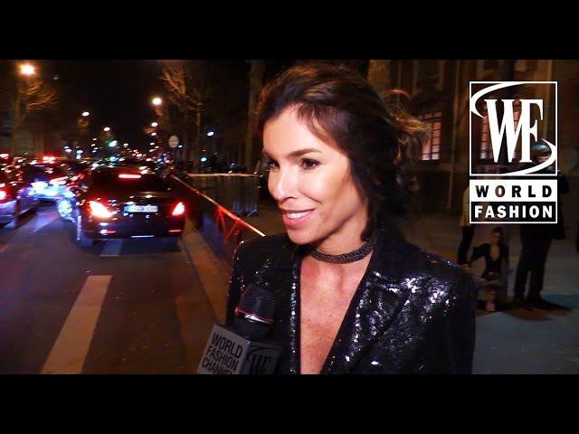 Front Row Givenchy Fall-Winter 15-16 Paris Fashion Week