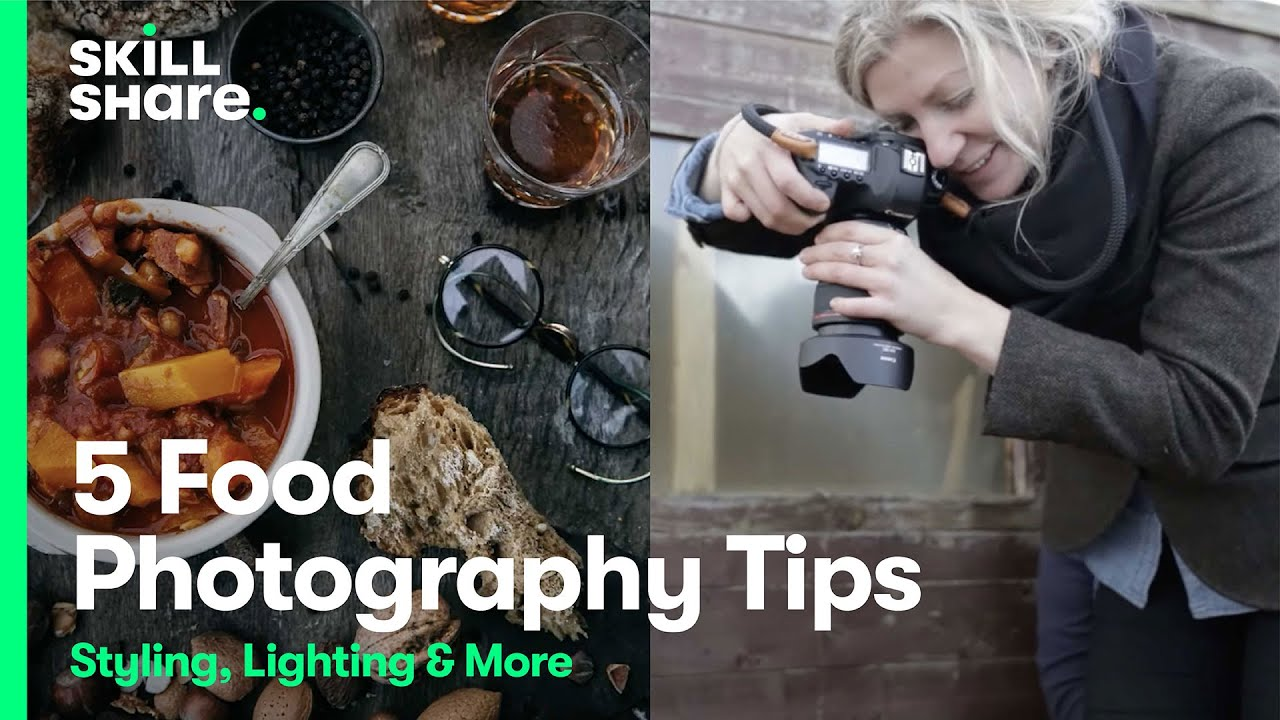 5 Food Photography Tips: Food Styling, Photography Lighting, and More